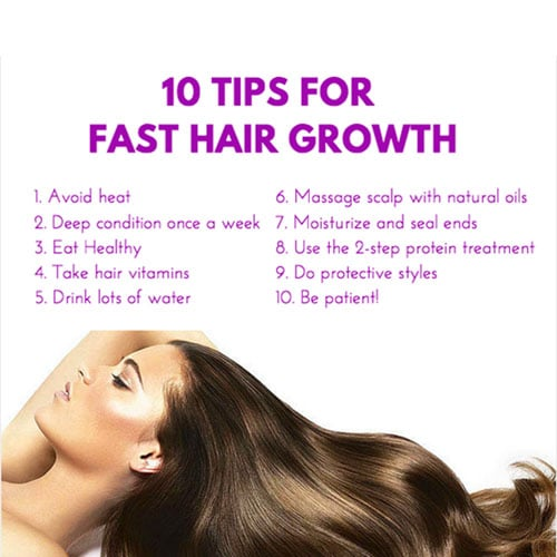 Natural Tips Long Hair Growth